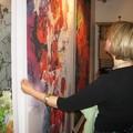 Obejrzyj galerię: Otwarcie wystawy malarstwa i tkaniny Moniki Stanisławskiej-Pitoń