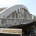 Obejrzyj galerię: Most w Krościenku na półmetku
