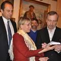 Obejrzyj galerię: Minister Kultury Bogdan Zdrojewski odwiedził harendziańskie Muzeum