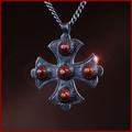 Obejrzyj galerię: Srebrny krzyż z koralami dla Orlic