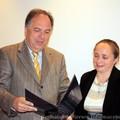Obejrzyj galerię: Burmistrz wręcza nagrody nauczycielom