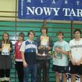 Obejrzyj galerię: Licealiada Powiatu Nowotarskiego w tenisie stołowym - turniej drużynowy