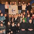 Obejrzyj galerię: Poświęcenie sztandaru Katolickiego Stowarzyszenia Młodzieży