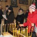 Obejrzyj galerię: Prawosławne nabożeństwo bożonarodzeniowe w Starym Kościółku