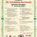 Obejrzyj galerię: Góralski Karnawał - Ogólnopolski Konkurs Grup Kolędniczych, Konkurs Tańca Zbójnickiego, Popis Par Tanecznych, Kumoterki