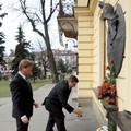 Obejrzyj galerię: Nowy Targ uczcił rocznicę śmierci Ojca Świętego