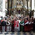 Obejrzyj galerię: Wiktorówki otrzymały relikwie św. Jacka – założyciela Polskiej Prowincji Dominikanów