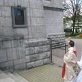 Obejrzyj galerię: Poświęcenie tablicy pamiątkowej błog. Ojca Św. Jana Pawła II