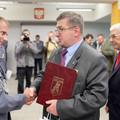 Obejrzyj galerię: Burmistrz Marek Fryźlewicz zasłużonym dla Policji
