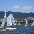 Obejrzyj galerię: Międzywojewódzkie Mistrzostwa Młodzików w klasie Optimist
