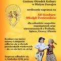 Obejrzyj galerię: Już wkrótce XII Konkurs Młodyk Toniecników