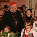 Obejrzyj galerię: Majeranki u Ks. Kardynała Stanisława Dziwisza