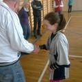 Obejrzyj galerię: Igrzyska Powiatu Nowotarskiego w mini piłce siatkowej dziewcząt