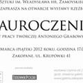 """Obejrzyj galerię: Wernisaż wystawy rzeźb """"Zauroczenia"""" - 50 lat pracy twórczej Antoniego Grabowskiego"""