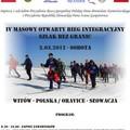 """Obejrzyj galerię: Integracyjny bieg narciarski """"Szlak bez Granic: Witów - Oravice"""""""