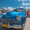 Obejrzyj galerię: XII Tatrzański Zlot Pojazdów Zabytkowych - prezentacja zabytkowych samochodów na Placu pod Gubałówką