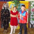 Obejrzyj galerię: Teatrzyk SP Nr 9-L na gościnnych występach we Frydmanie i Gronkowie