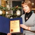 Obejrzyj galerię: Maria Rzadkosz wyróżniona za działalność filantropijną