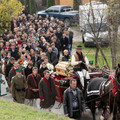 Obejrzyj galerię: Pożegnanie Andrzeja Stocha
