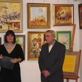 Obejrzyj galerię: Wystawa malarstwa Andrzeja Bąka