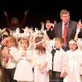 Obejrzyj galerię: Mali nowotarżanie śpiewali Dzieciątku