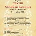 Obejrzyj galerię: XXXVIII Góralski Karnawał