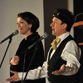 Obejrzyj galerię: Beata Rybotycka i Jacek Wójcicki zaśpiewali kolędy