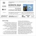 """Obejrzyj galerię: Wernisaż wystawy grafiki """"Punkt Odniesienia"""" autorstwa Doroty Bąk"""