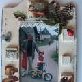 Obejrzyj galerię: Decoupage Kids - ramka – technika shabby