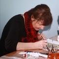 Obejrzyj galerię: Górale w Warszawie, czyli Marta Walczak Stasiowska uczy malować na szkle