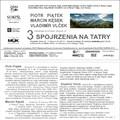 Obejrzyj galerię: 3 spojrzenia na Tatry