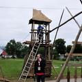 Obejrzyj galerię: Zlot na Stulecie Harcerstwa - budowa obozu