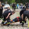 Obejrzyj galerię: I Olimpiada Sportowo-Pożarnicza OSP