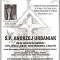 Obejrzyj galerię: Pogrzeb Andrzeja Urbaniaka