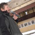 Obejrzyj galerię: Tytus Chałubiński na dziedzińcu zamku w Kieżmarku