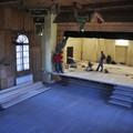Obejrzyj galerię: Modernizacja sceny w Domu Ludowym