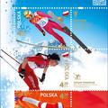 Obejrzyj galerię: Polscy Złoci Medaliści na znaczkach pocztowych