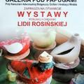 Obejrzyj galerię: Rysunek i ceramika Lidii Rosińskiej w Galerii Pod Papugami