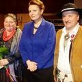 Obejrzyj galerię: Marta Walczak-Stasiowska, Stanisław Pietras i Krzysztof Trebunia-Tutka laureatami medalu Zasłużony Kulturze Gloria Artis