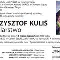 """Obejrzyj galerię: Wernisaż wystawy """"Krzysztof Kuliś - Malarstwo"""""""
