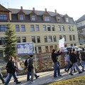 Obejrzyj galerię: Strajk młodzieży z klas maturalnych