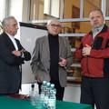 Obejrzyj galerię: Krzysztof Wojna i Kazimierz Zelek z wizytą w szkole