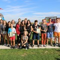 Obejrzyj galerię: Mistrzostwa Powiatu Nowotarskiego w Sztafetowych Biegach Przełajowych