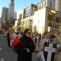 Obejrzyj galerię: Marsz ulicami i Msza św. żałobna