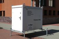 Stacja pomiarowa mierzy jakość powietrza