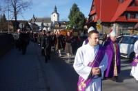 Uroczystości pogrzebowe Śp. Ks. Prałata Franciszka Skupnia