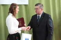 Nagroda Burmistrza dla Moniki Janeczek
