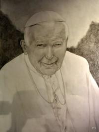 """""""Ojciec Święty Jan Paweł II – rysunek, malarstwo, rzeźba"""""""