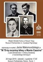 """""""W 70-tą rocznicę bitwy o Monte Cassino"""""""