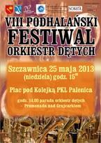 VIII Podhalański Festiwal Orkiestr Dętych